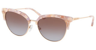 Michael Kors MK1033 334168 BROWN PURPLE GRADIENTPASTEL PINK MOSAIC/SHINY ROSE