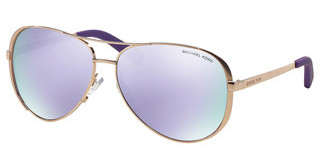 Michael Kors MK5004 10034V PURPLE MIRRORROSE GOLD-TONE