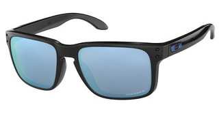 Oakley OO9102 9102C1 PRIZM DEEP H2O POLARIZEDPOLISHED BLACK