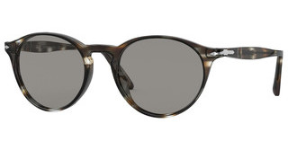 Persol PO3092SM 1124R5 GREYSTRIPED BROWN