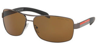 Prada Sport PS 54IS 5AV5Y1 POLAR BROWNGUNMETAL