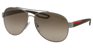 Prada Sport PS 55QS 5AV1X1 BROWN GRADIENTGUNMETAL