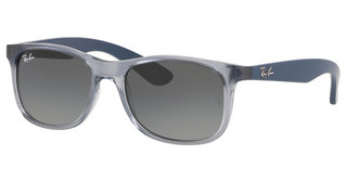 Ray-Ban Junior RJ9062S 705011 GREY GRADIENT DARK GREYTRANSPARENT BLUE