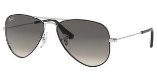 Ray-Ban Junior RJ9506S 271/11 GREY GRADIENT DARK GREYSILVER ON TOP BLACK
