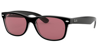 Ray-Ban RB2132 6398U0 VIOLET PHOTO MIR GOLDBLACK/TRASPARENT