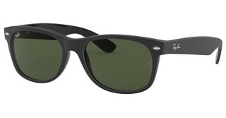 Ray-Ban RB2132 646231 GREENTOP RUBBER BLACK ON SHINY BLK