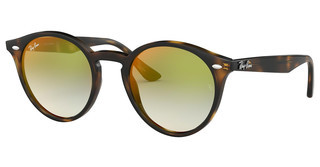 Ray-Ban RB2180 710/W0 GRADIENT GREEN MIRROR REDHAVANA