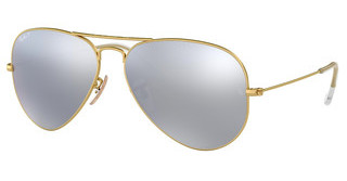 Ray-Ban RB3025 112/W3 DARK GREY MIRROR POLARMATTE GOLD