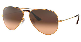 Ray-Ban RB3025 9001A5 PINK GRADIENT BROWNSHINY LIGHT BRONZE