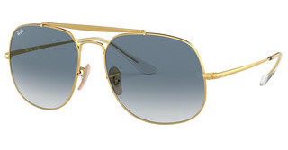 Ray-Ban RB3561 001/3F BLUE GRADIENTGOLD