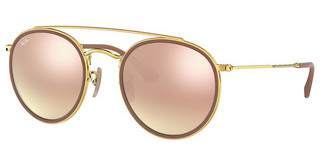 Ray-Ban RB3647N 001/7O GRADIENT BROWN MIRROR PINKGOLD