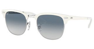 Ray-Ban RB3716 90883F CLEAR GRADIENT BLUESILVER ON WHITE