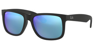 Ray-Ban RB4165 622/55 GREEN MIRROR BLUEBLACK RUBBER