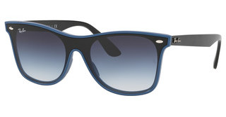 Ray-Ban RB4440N 64170S CLEAR GRAD GREEN GRAD GREYBLUE DEMISHINY