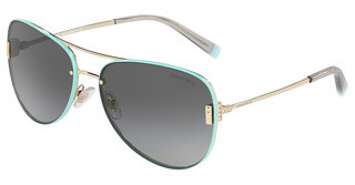 Tiffany TF3066 61383C LIGHT GREY GRADIENT BLACKPALE GOLD