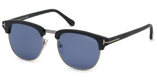 Tom Ford FT0248 02X blau verspiegeltschwarz matt