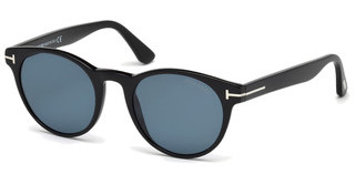 Tom Ford FT0522 01V blauschwarz glanz