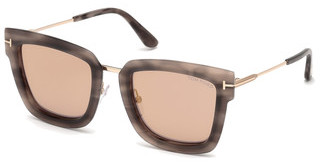 Tom Ford FT0573 55Z verspiegelthavanna bunt