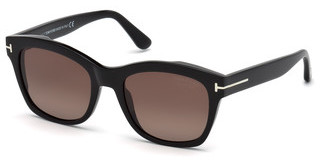 Tom Ford FT0614 01H braun polarisierendschwarz glanz