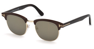 Tom Ford FT0623 49C grau verspiegeltbraun dunkel matt