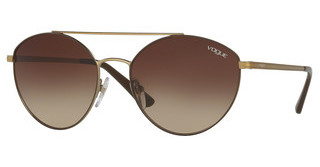 Vogue VO4023S 502113 BROWN GRADIENTMATTE BROWN/PALE GOLD
