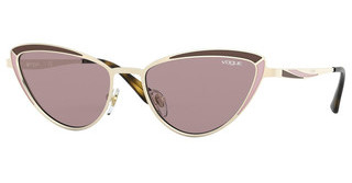 Vogue VO4152S 848/7N PURPLE BROWNPALE GOLD/MATTE BROWN PINK