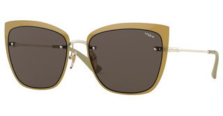 Vogue VO4158S 848/73 BROWNPALE GOLD/OPAL GREEN