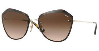 Vogue VO4159S 848/13 BROWN GRADIENTPALE GOLD/DARK HAVANA