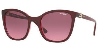 Vogue VO5243SB 263620 PINK GRADIENT VIOLETTRANSP BORDEAUX/TRANSP RED