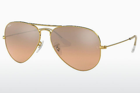 Óculos de marca Ray-Ban AVIATOR LARGE METAL (RB3025 001/3E)