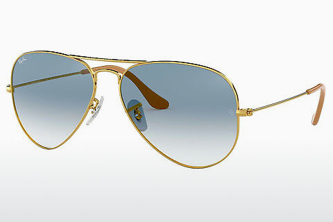 Óculos de marca Ray-Ban AVIATOR LARGE METAL (RB3025 001/3F)