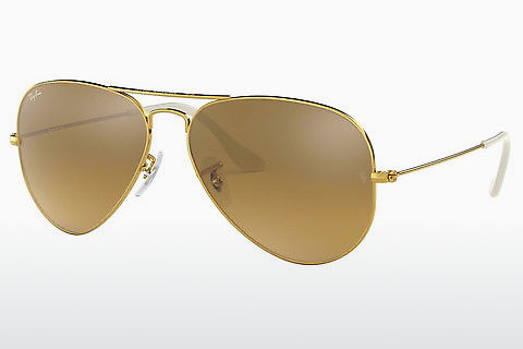 Óculos de marca Ray-Ban AVIATOR LARGE METAL (RB3025 001/3K)