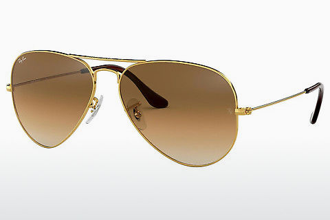 Óculos de marca Ray-Ban AVIATOR LARGE METAL (RB3025 001/51)