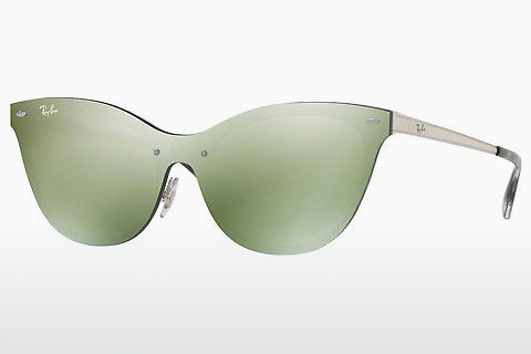 Óculos de marca Ray-Ban Blaze Cat Eye (RB3580N 042/30)