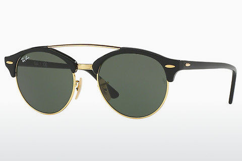 Óculos de marca Ray-Ban Clubround Doublebridge (RB4346 901)