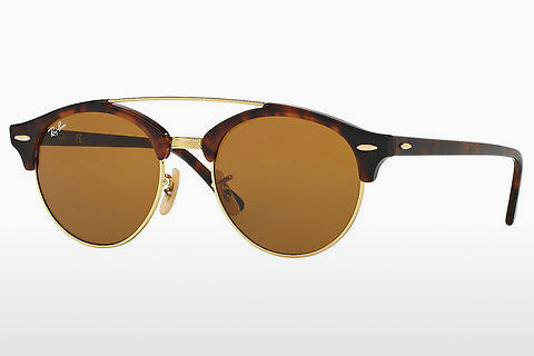 Óculos de marca Ray-Ban Clubround Doublebridge (RB4346 990/33)