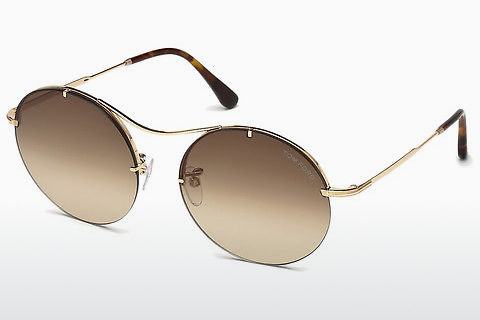 Óculos de marca Tom Ford Veronique-02 (FT0565 28F)