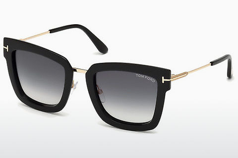 Óculos de marca Tom Ford Lara-02 (FT0573 01B)