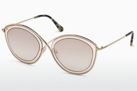Óculos de marca Tom Ford Sascha-02 (FT0604 47G)