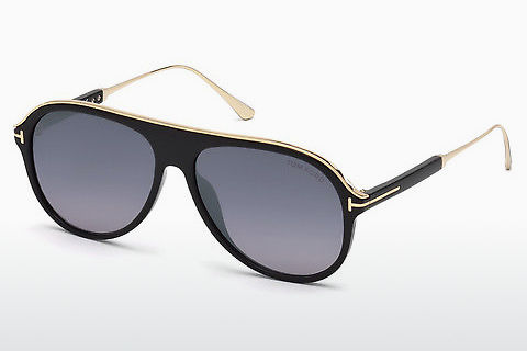 Óculos de marca Tom Ford Nicholai-02 (FT0624 01C)