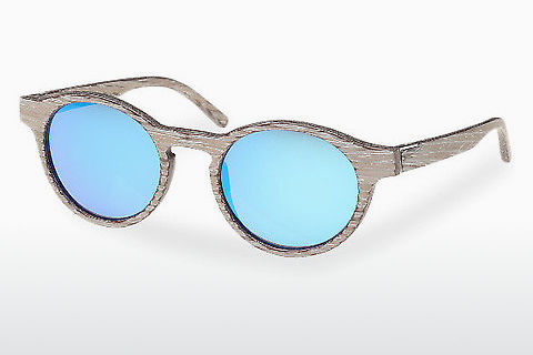Óculos de marca Wood Fellas Flaucher (10754 chalk oak/blue)