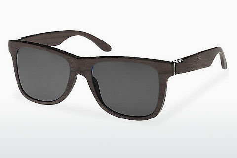 Óculos de marca Wood Fellas Prinzregenten (10755 black oak/grey)