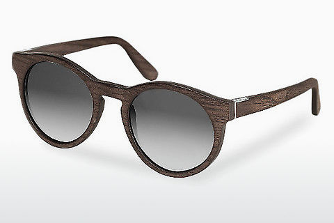 Óculos de marca Wood Fellas Au (10756 black oak/grey)