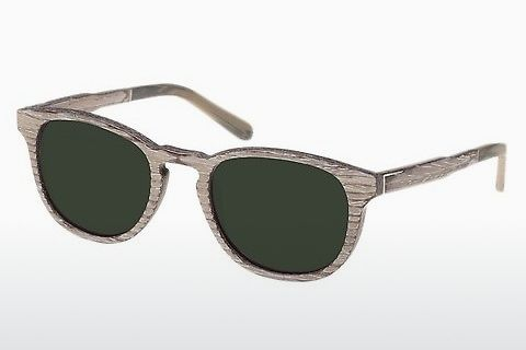 Óculos de marca Wood Fellas Bogenhausen (10762 chalk oak/green)