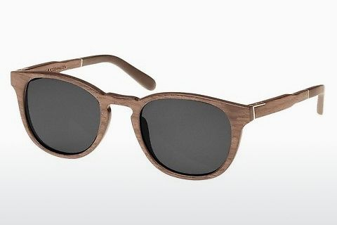 Óculos de marca Wood Fellas Bogenhausen (10762 walnut/grey)