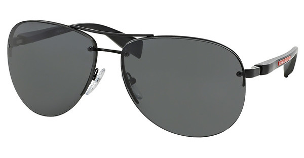Prada Sport   PS 56MS 1BO1A1 GRAYBLACK DEMI SHINY